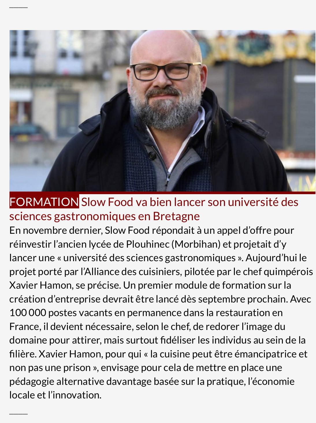 Slow Food - Bretagne