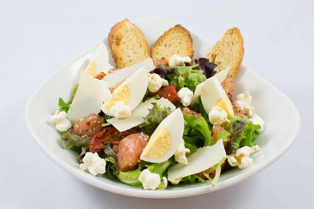 Salad pop'n' green au poulet