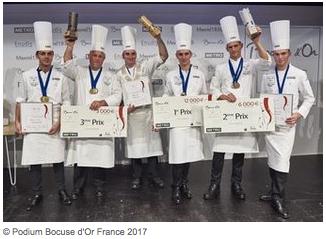 Bocuse or france 2017